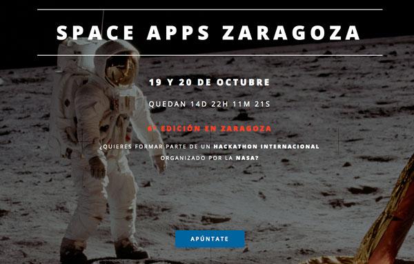 6ª edición del Hackaton SpaceApps en Zaragoza
