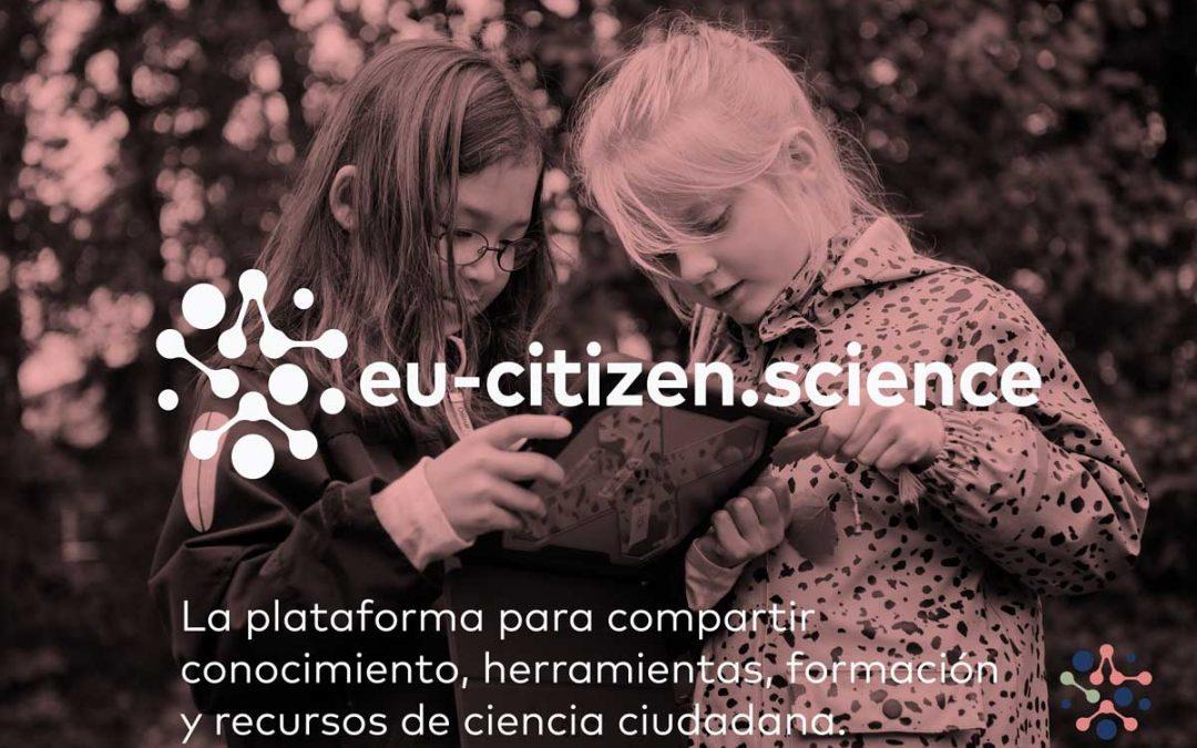 Lanzamiento de la plataforma de ciencia ciudadana Eu-Citizen.Science