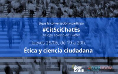 Citscichates dedicado a la ética en ciencia ciudadana 25/06/2020