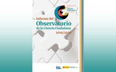 Disponible el Informe 2020 del Observatorio de la Ciencia Ciudadana en España