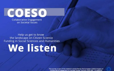 Survey: Landscape Study on Citizen Science (CS) Funding in Social Science and Humanities (SSH)