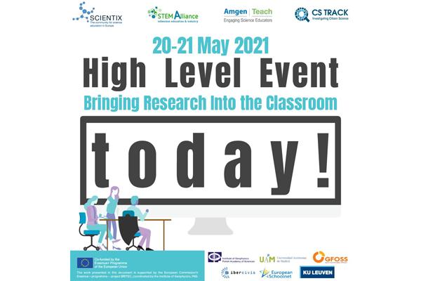 Presentados los resultados iniciales de Britec en el STEM High Level Event