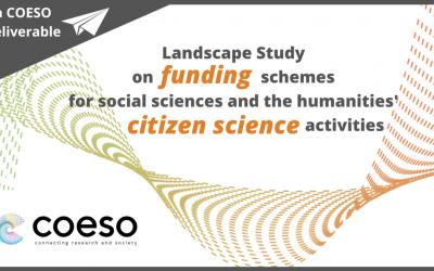 Estudio de los modelos de financiación de ciencia ciudadana para Ciencias Sociales y Humanidades