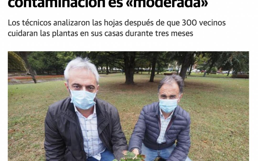 'El Diario Montañés' se hace eco del proyecto Vigilantes del Aire en Torrelavega: 300 vecinos cuidaron de las plantas de fresa durante 3 meses